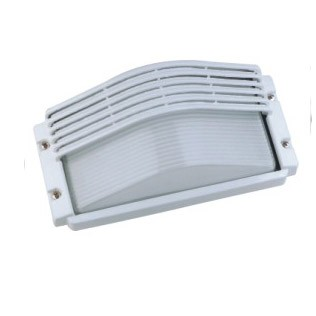 LUMMAX Outdoor Half Grill Bulkhead Light - Silver / Black / Beige