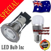 LED Downlight Kit - AKESI 6W LED Light Globe Included - 90mm Cutout