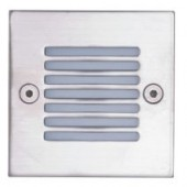 LUMMAX Square Grill Recessed Wall LED Light - 71 x 71 x 51mm