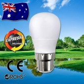 AKESI 5W LED Light Frost Globe Bulb - B22 Base