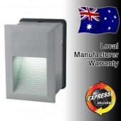 LUMMAX LED Recessed Wall Light with Aluminium Cover for Indoor & Outdoor