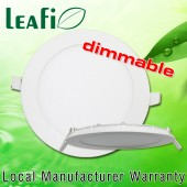 LEAFI Dimmable 9W Recessed LED Ceiling Down Light Panel Energy Saving Ceiling Lamp