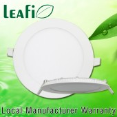 LEAFI 9W Recessed LED Ceiling Down Light Panel Energy Saving Ceiling Lamp