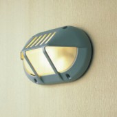 Outdoor Oval Aluminium Die-casting Aurora Bulkhead Light